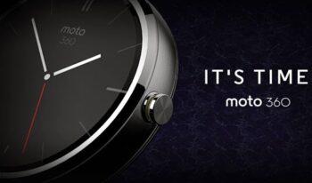 Мото 360 увеличивает время работы от батареи