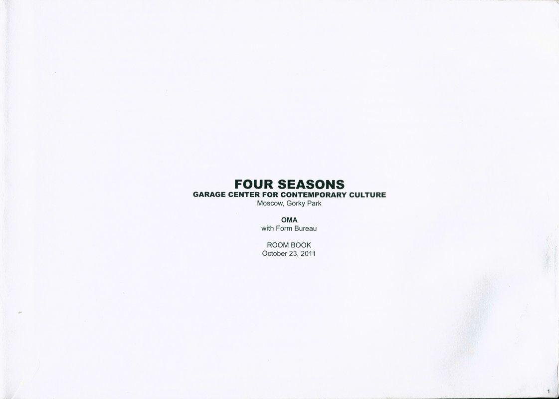[Времена года]. Room Book October 23, 2011