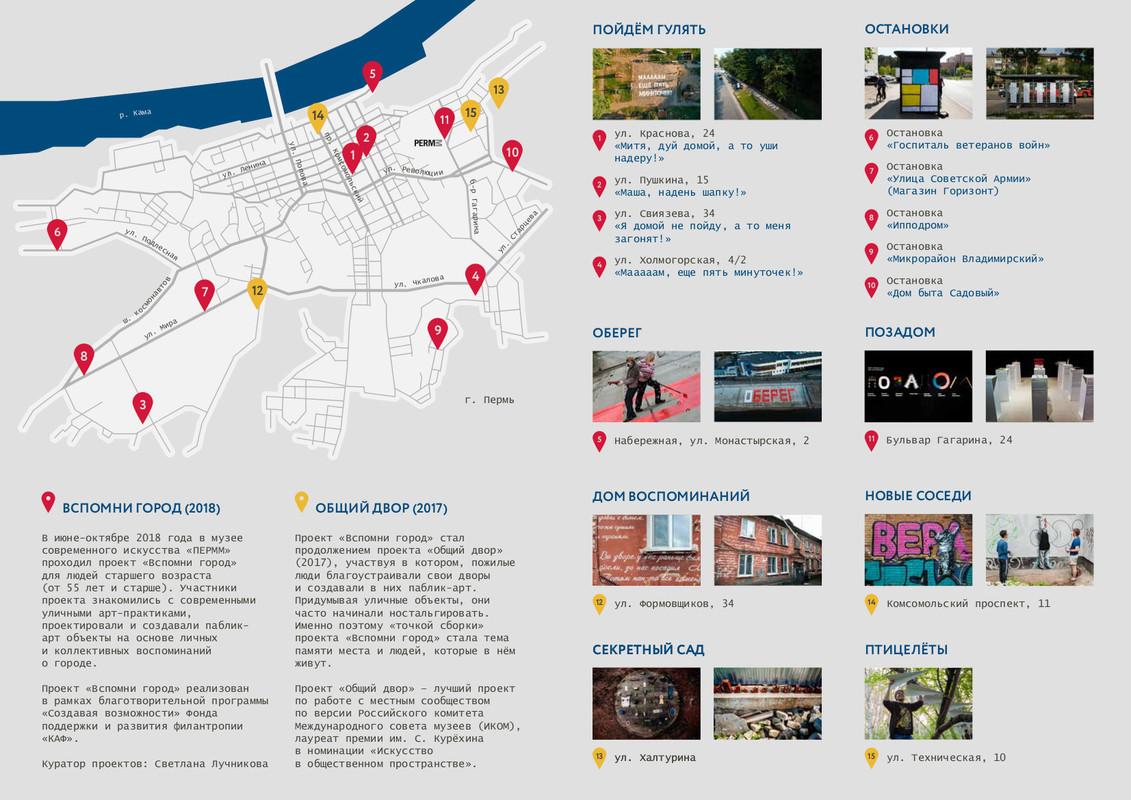 Макет карты проектов «Общий двор» и «Вспомни город»