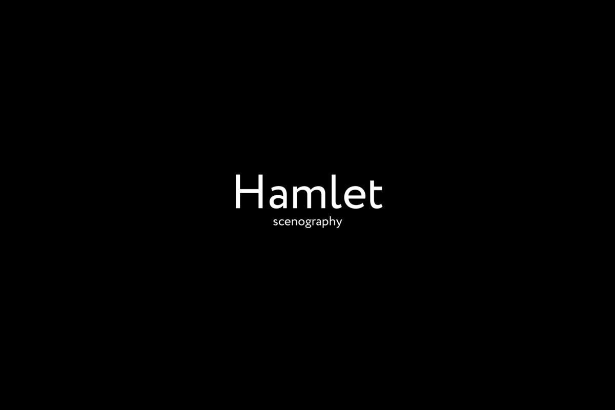 Сценография спектакля «Гамлет»