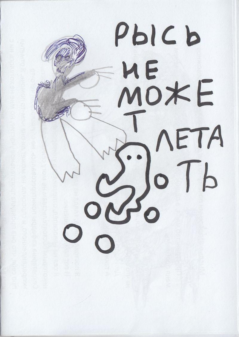 Серия графики Велимира Бухарова «Рысь не может летать»