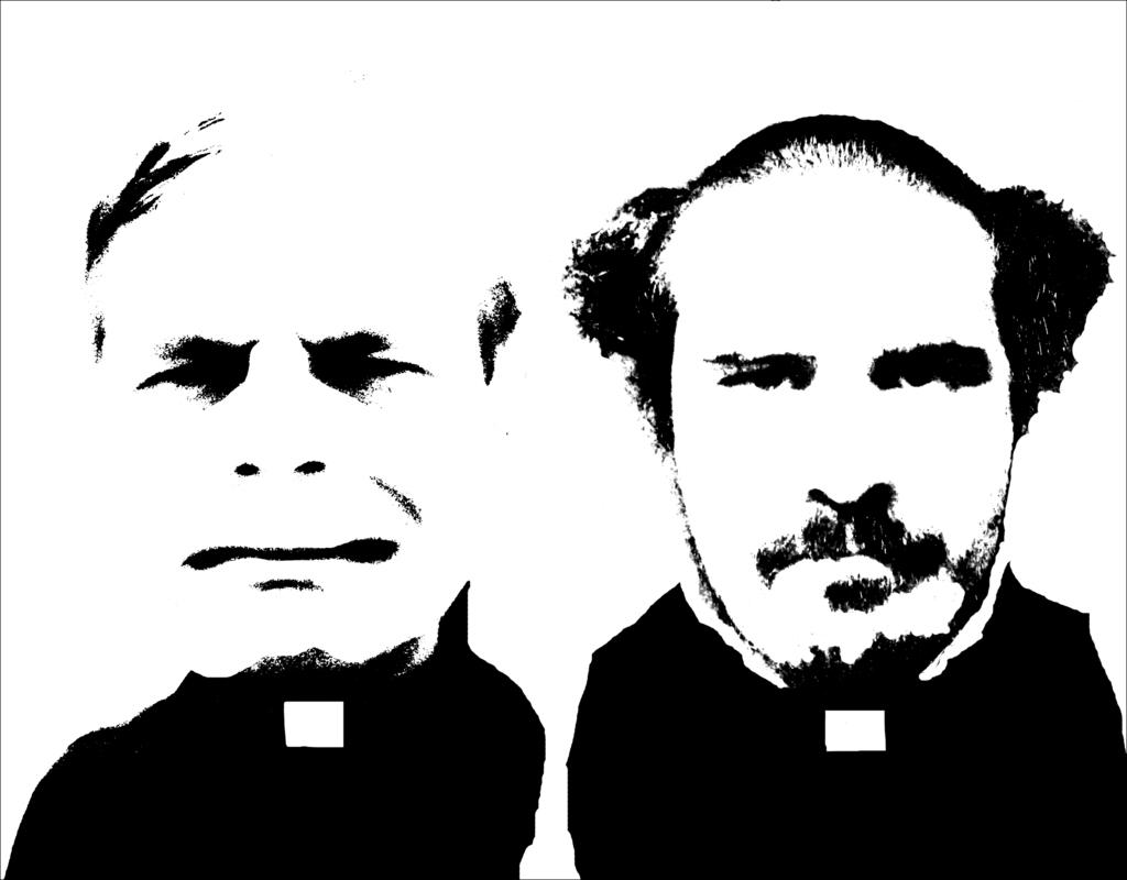 Постеры «Святые отцы» группы ЖКП 2015 года