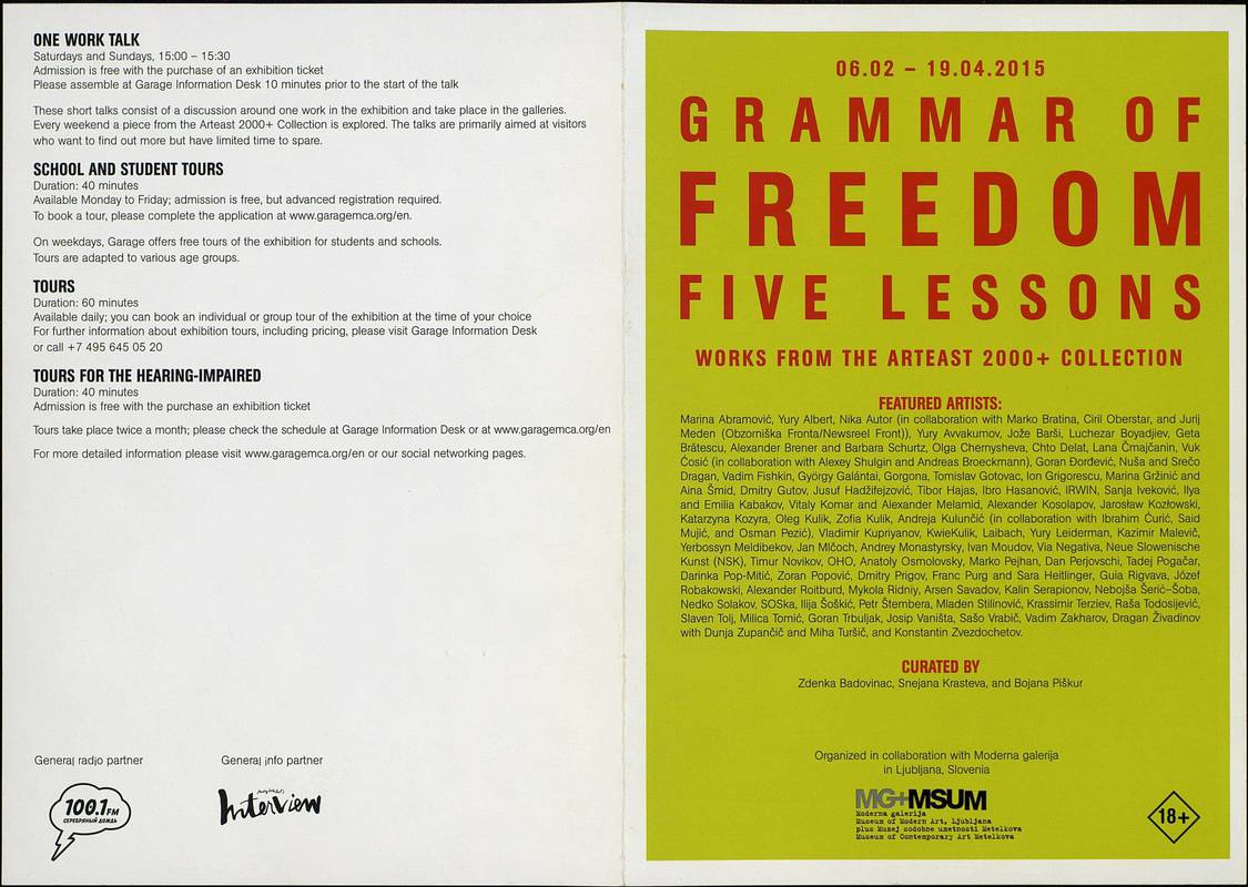 Grammar Of Freedom