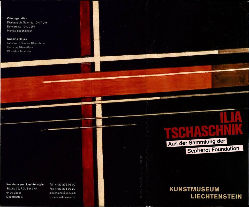 Ilya Tschaschnik. Aus der Sammlung der Sepherot Foundation