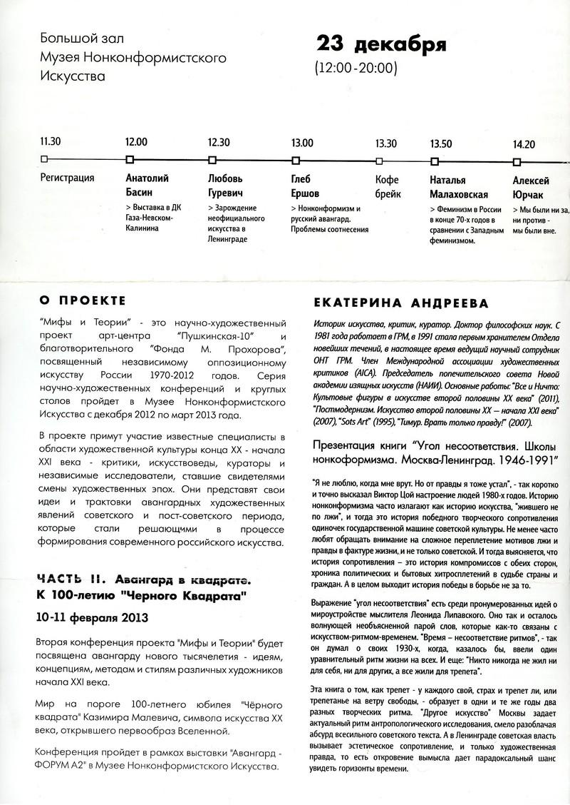 Нонконформизм в искусстве СССР 1970-80-х годов. Различие концепций
