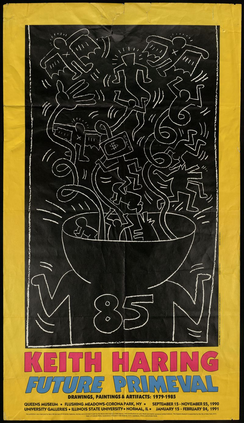 Keith Haring. Future Primeval