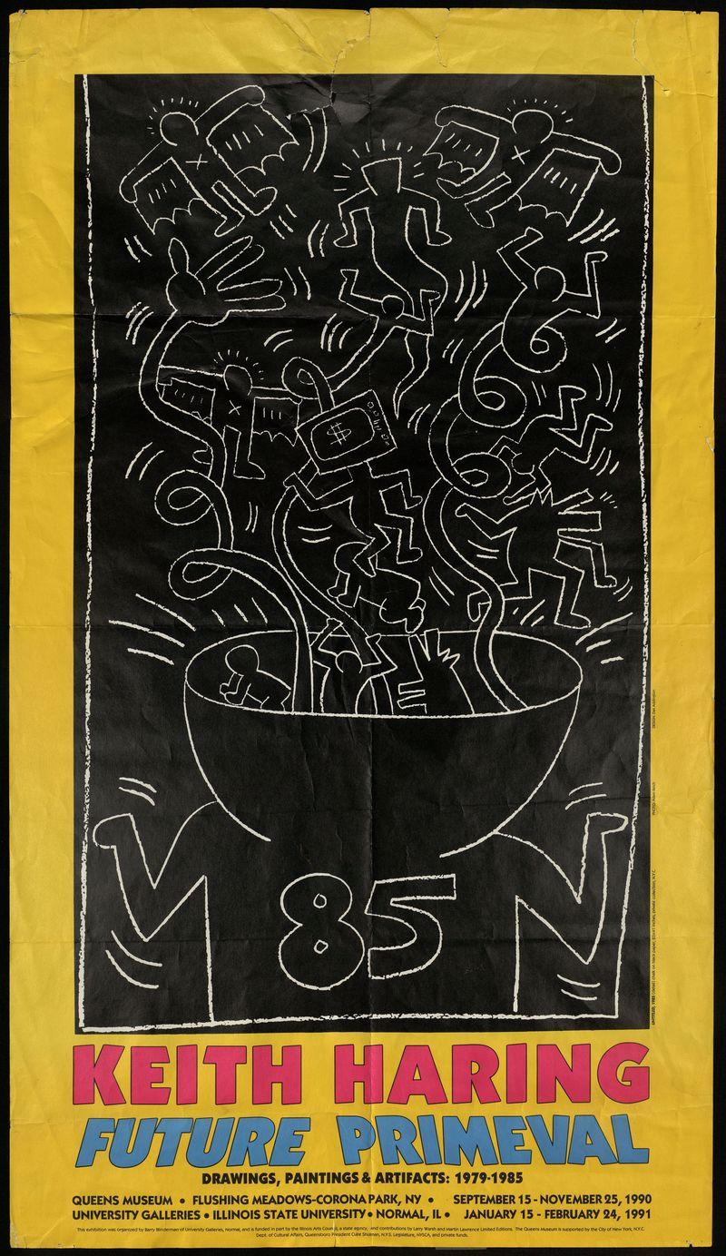 Keith Haring. Future Primeval
