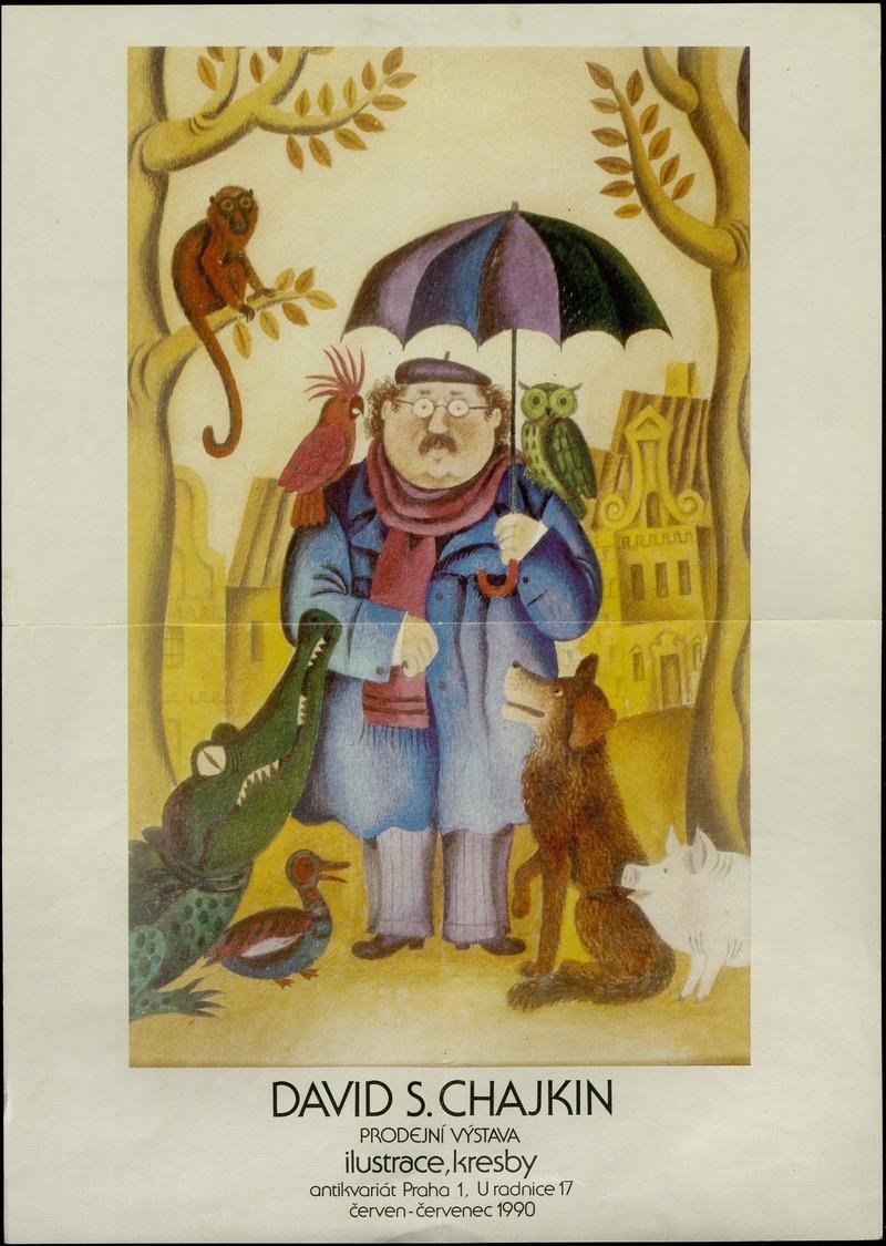 David S. Chajkin. Prodejni výstava. Ilustrace, kresby