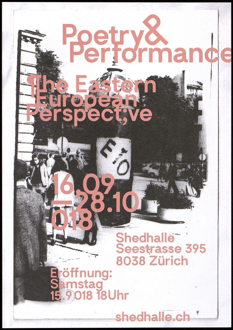 Poetry & Performance. The Eastern European Perspective