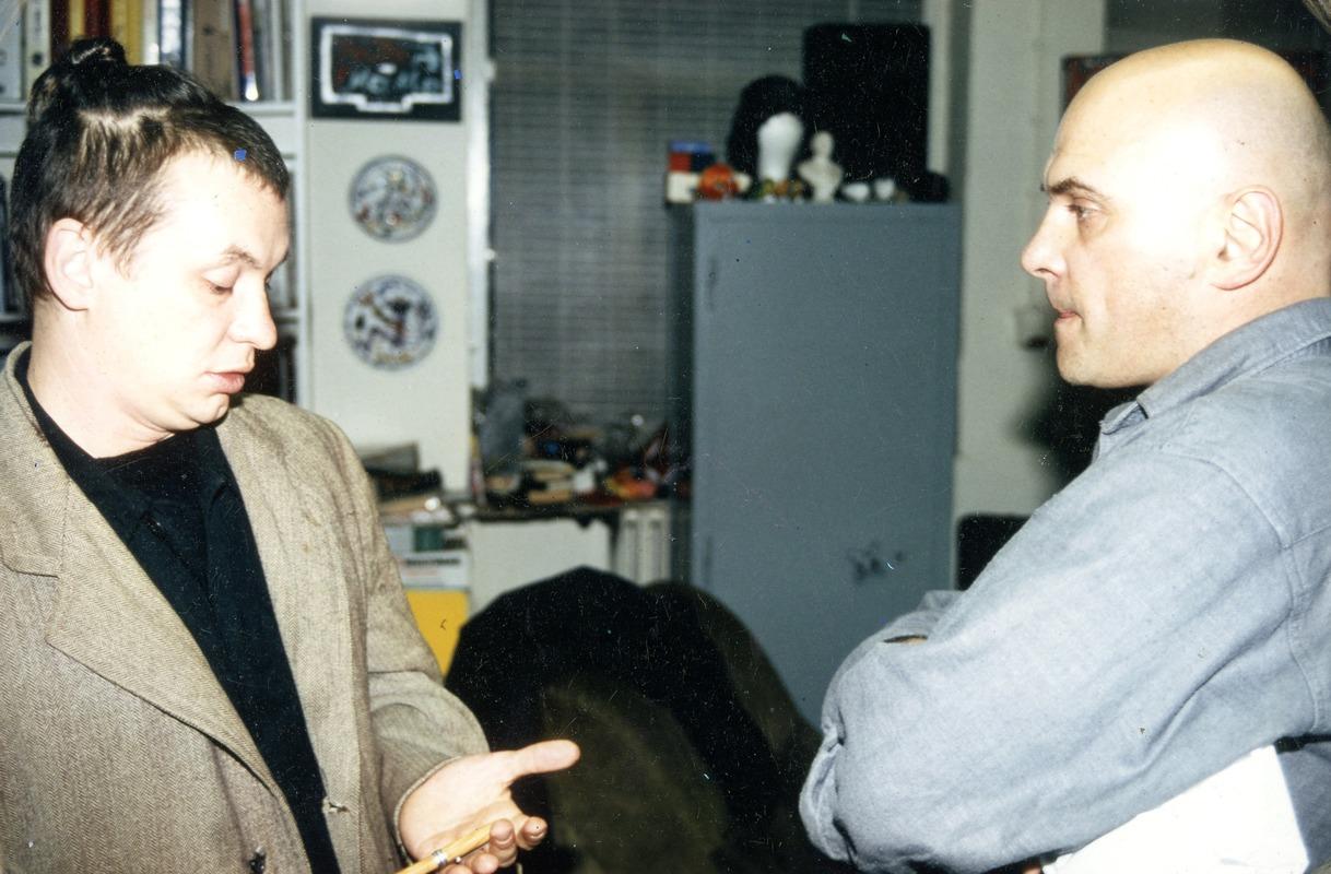 Андрей Хлобыстин и Андрей Великанов