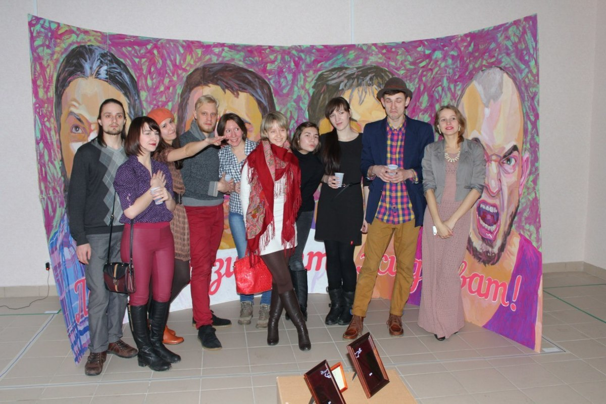 Открытие галереи внезапного искусства «Быстровка»