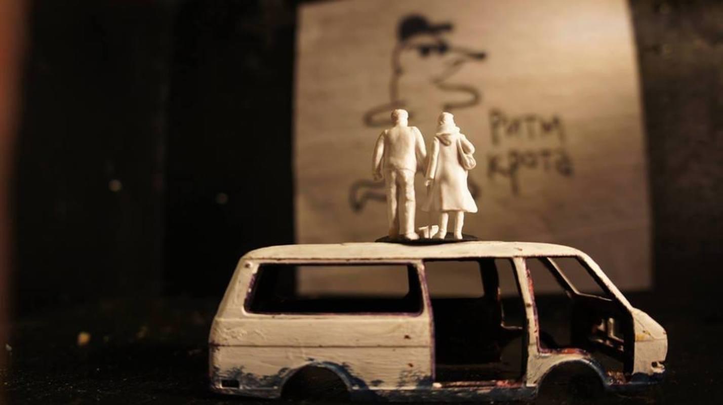 Выставка стрит-арт группы Poslushai