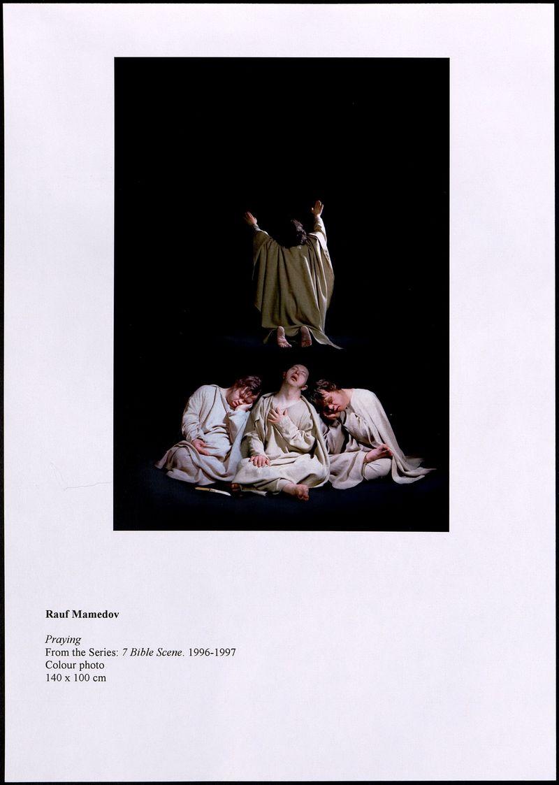 Досье Рауфа Мамедова, серия «Семь библейских сцен»
