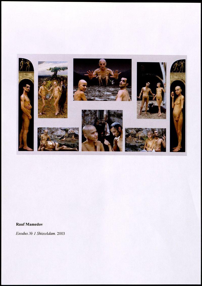 Фотография выставки Рауфа Мамедова «Исход №1. ШизоАдам»