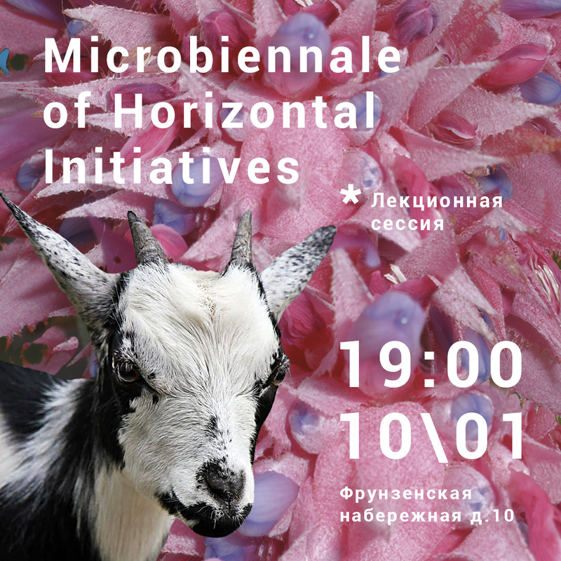 Микробиеннале. Лекционная сессия & финисаж