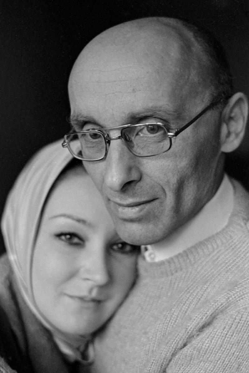 Надежда Эльская и Оскар Рабин. Москва