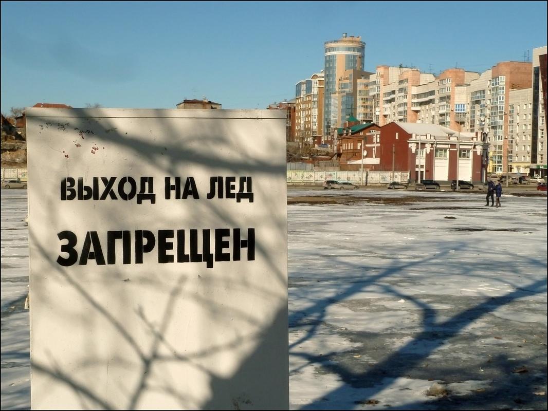 Фрукты Врукты. Выход на лёд запрещён