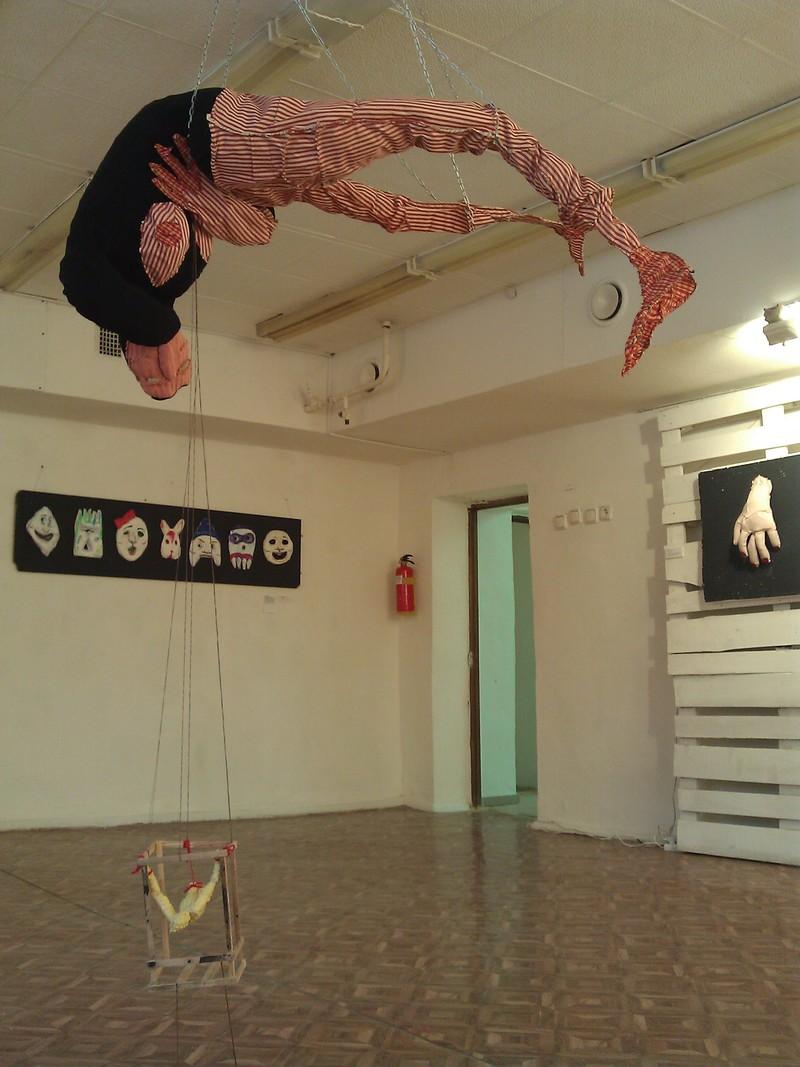 Экспозиция выставки «Точка» группы Second Hand