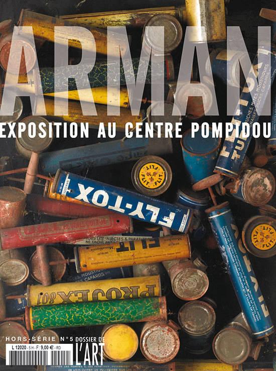 Arman. Exposition au centre Pompidou