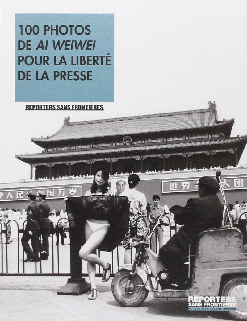 100 photos de Ai Weiwei pour la liberte de la press