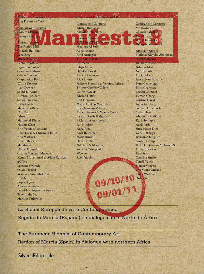 Manifesta 8: the European Biennial of Contemporary Art, region of Murcia (Spain) in dialogue with northern Africa