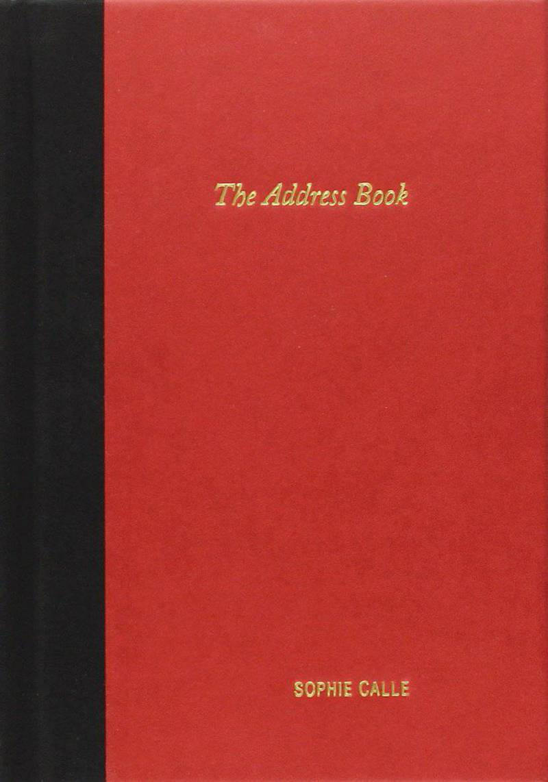The Adress Book. Sophie Calle