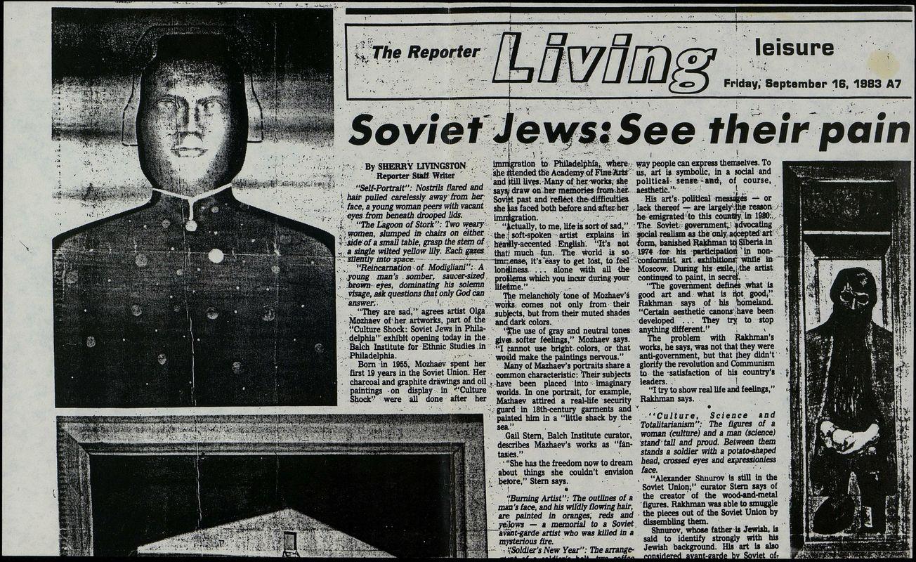 Soviet Jews: See their pain