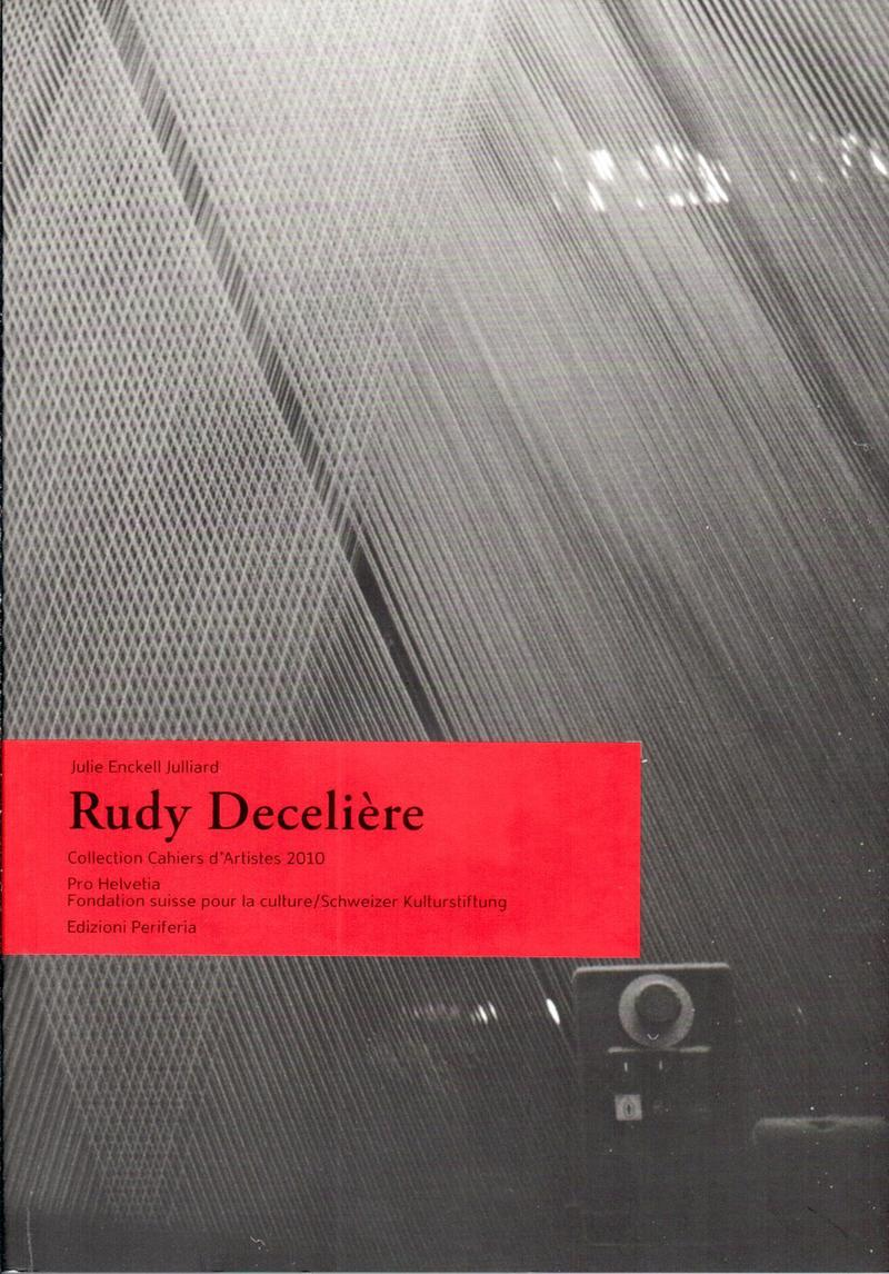 Rudy Deceliere: Collection Cahiers d'Artistes 2010
