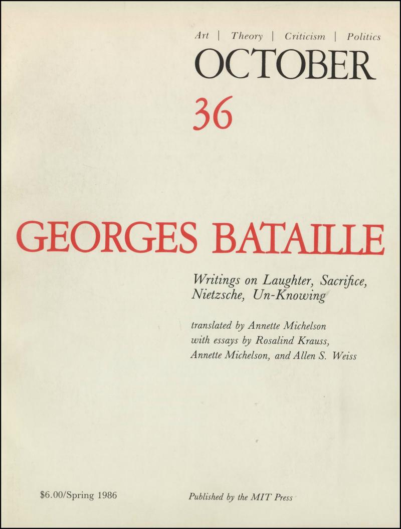 October. — 1986. no.36