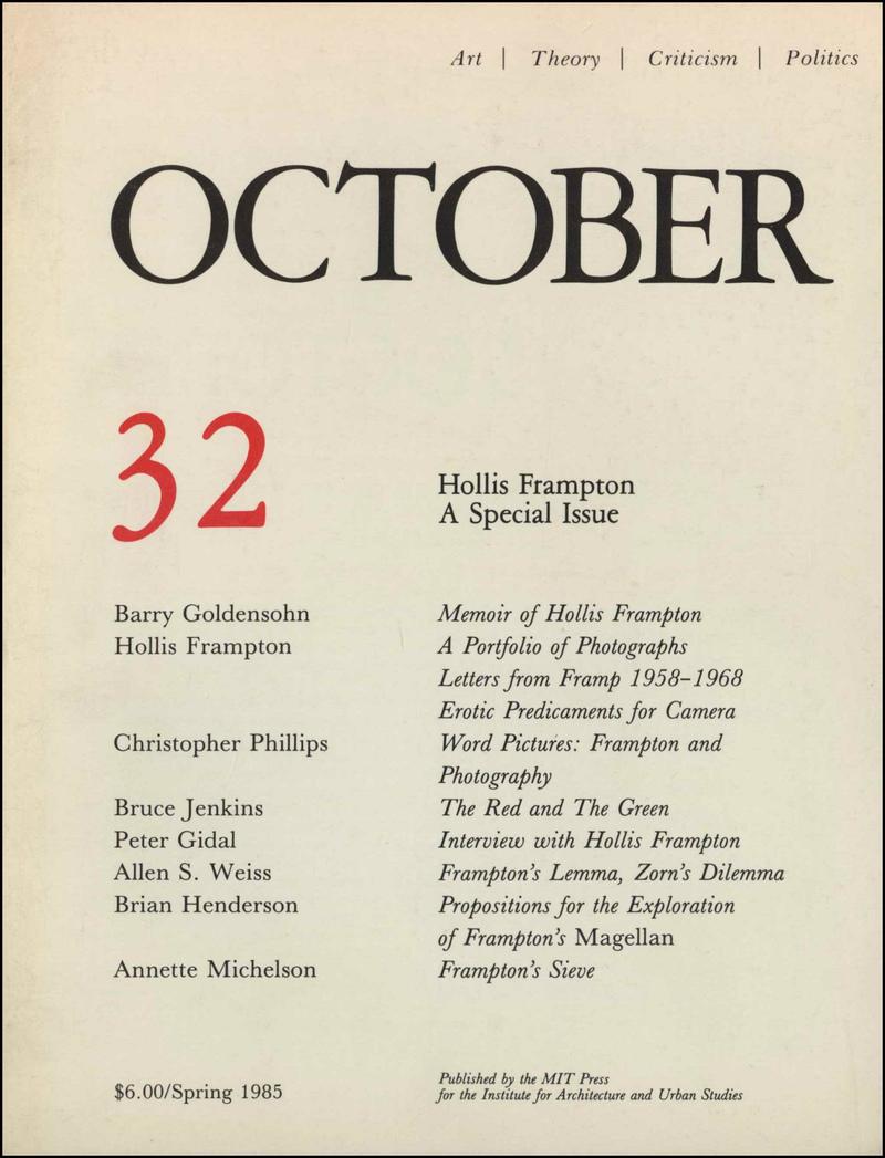 October. — 1985. no.32