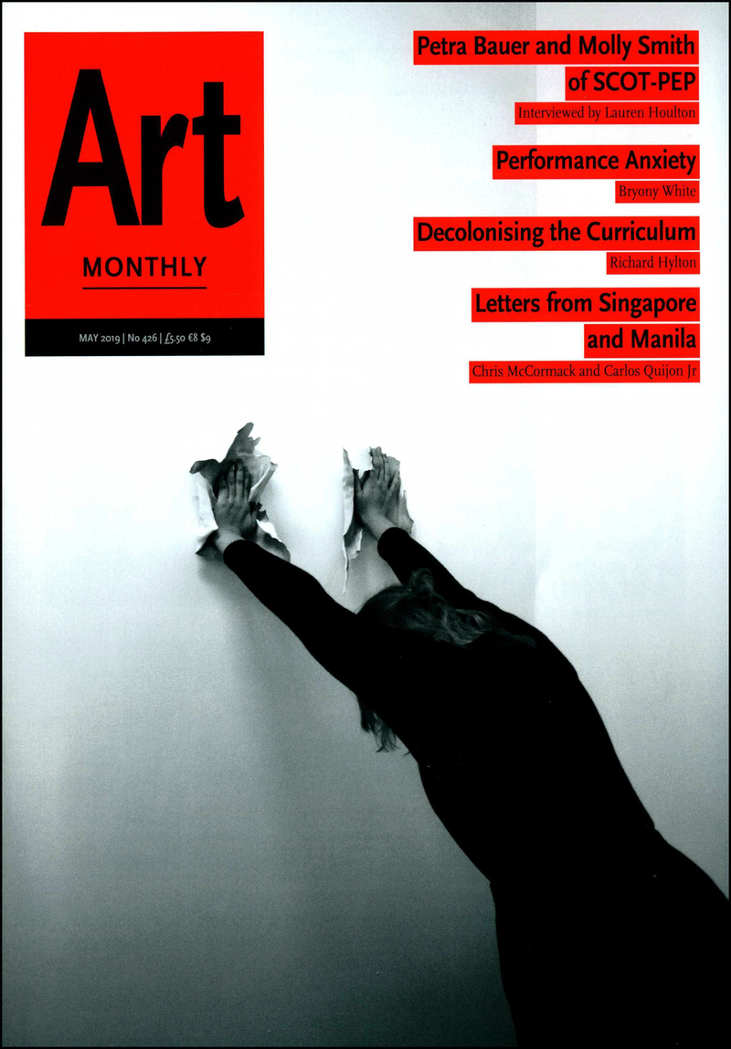 Art Monthly. — 2019. no.426