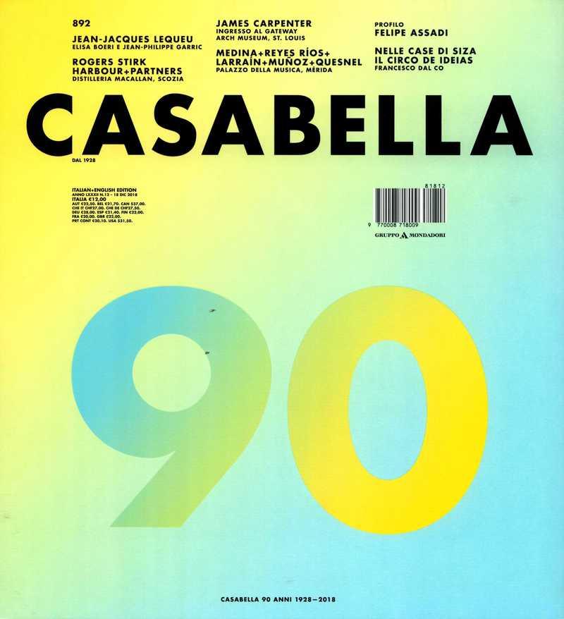 Casabella. — 2018. no.892