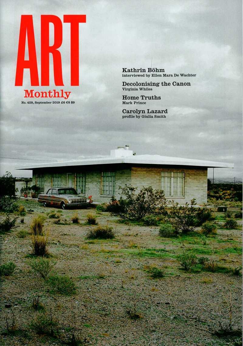 Art Monthly. — 2019. no.429