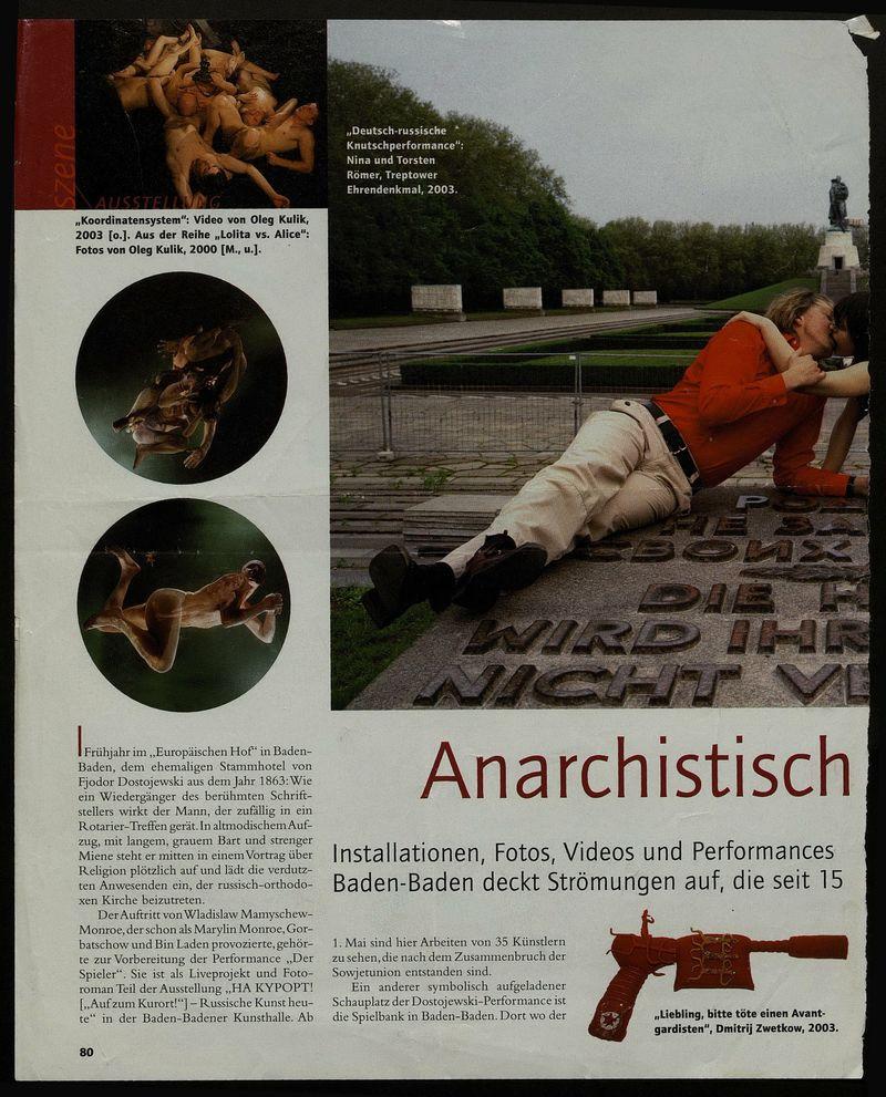 Anarchistisch und aufgewühlt