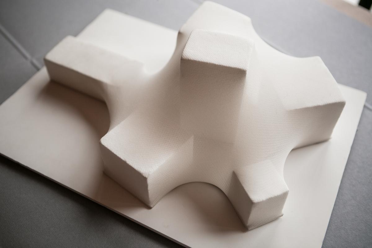 Архитектурный макет летнего павильона Центра современной культуры «Гараж» в Парке Горького, 2012