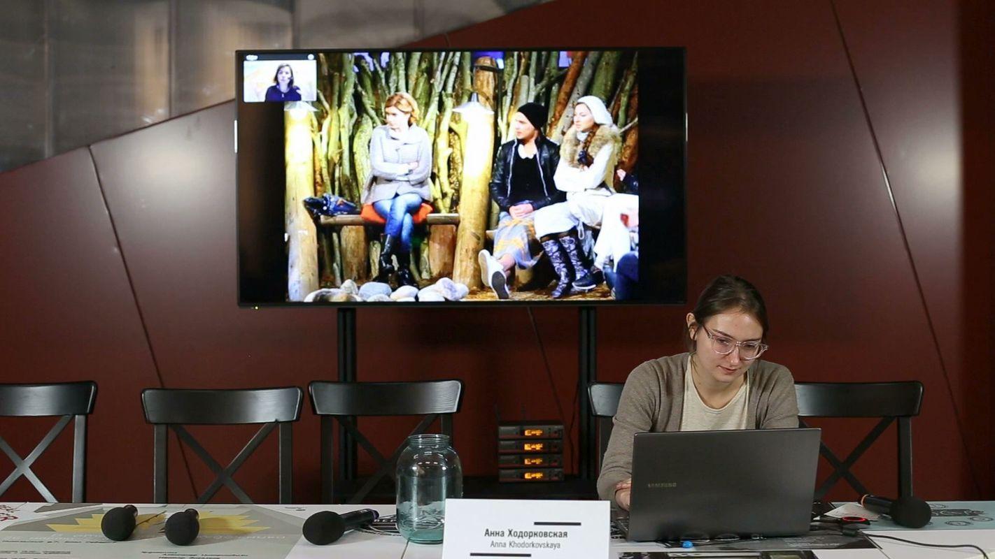 Анна Ходорковская. Онлайн-реалити шоу Reality Raum Residenz (Вена)