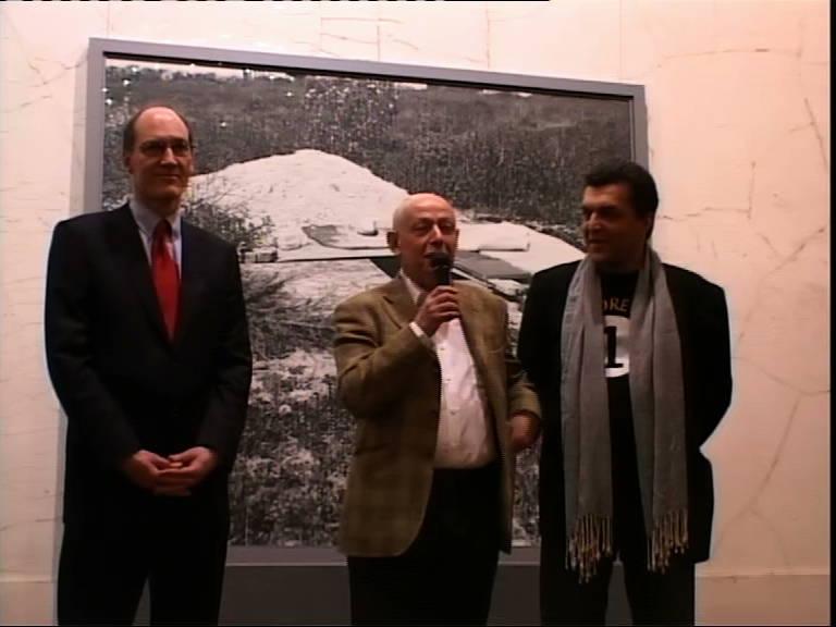 Открытие 2-й Московской биеннале современного искусства в МУАР