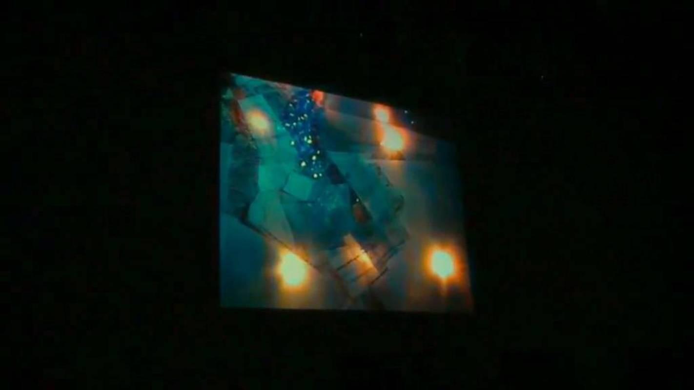 Groshevs Kaspars, Martins Rokis. Аудиовизуальный перформанс в рамках выставки «Мастерская 20'09».