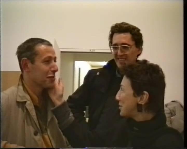 Иосиф Бакштейн, Борис Гройс. Встреча во Франкфурте-на-Майне