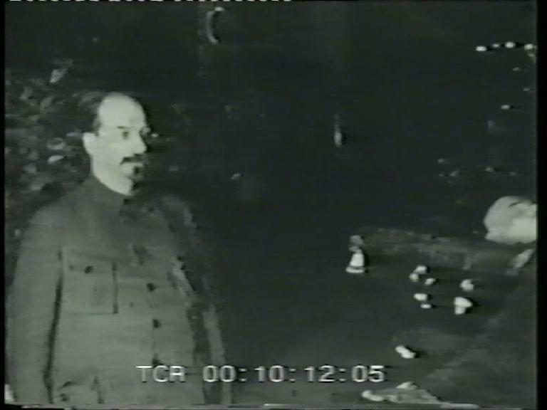 Видеохроника времён Второй мировой войны для выставки Андрея Филиппова «Ночь перед Рождеством»