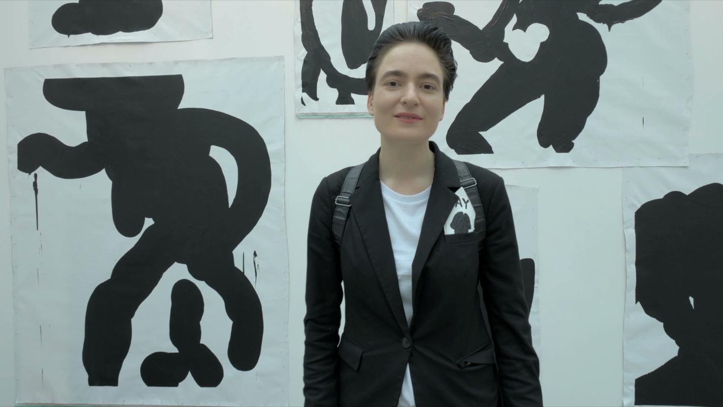 Алиса Йоффе. Стенд галереи Artwin на 7-й Международной ярмарке современного искусства Cosmoscow