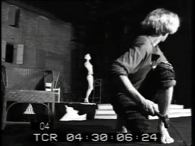 Репетиция в Московском Театре на Таганке