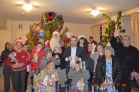 Празднование Нового 2015 года в ГКУ РПНИ
