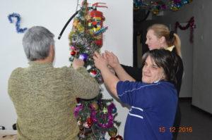 Подготовка к новогодним праздникам.
