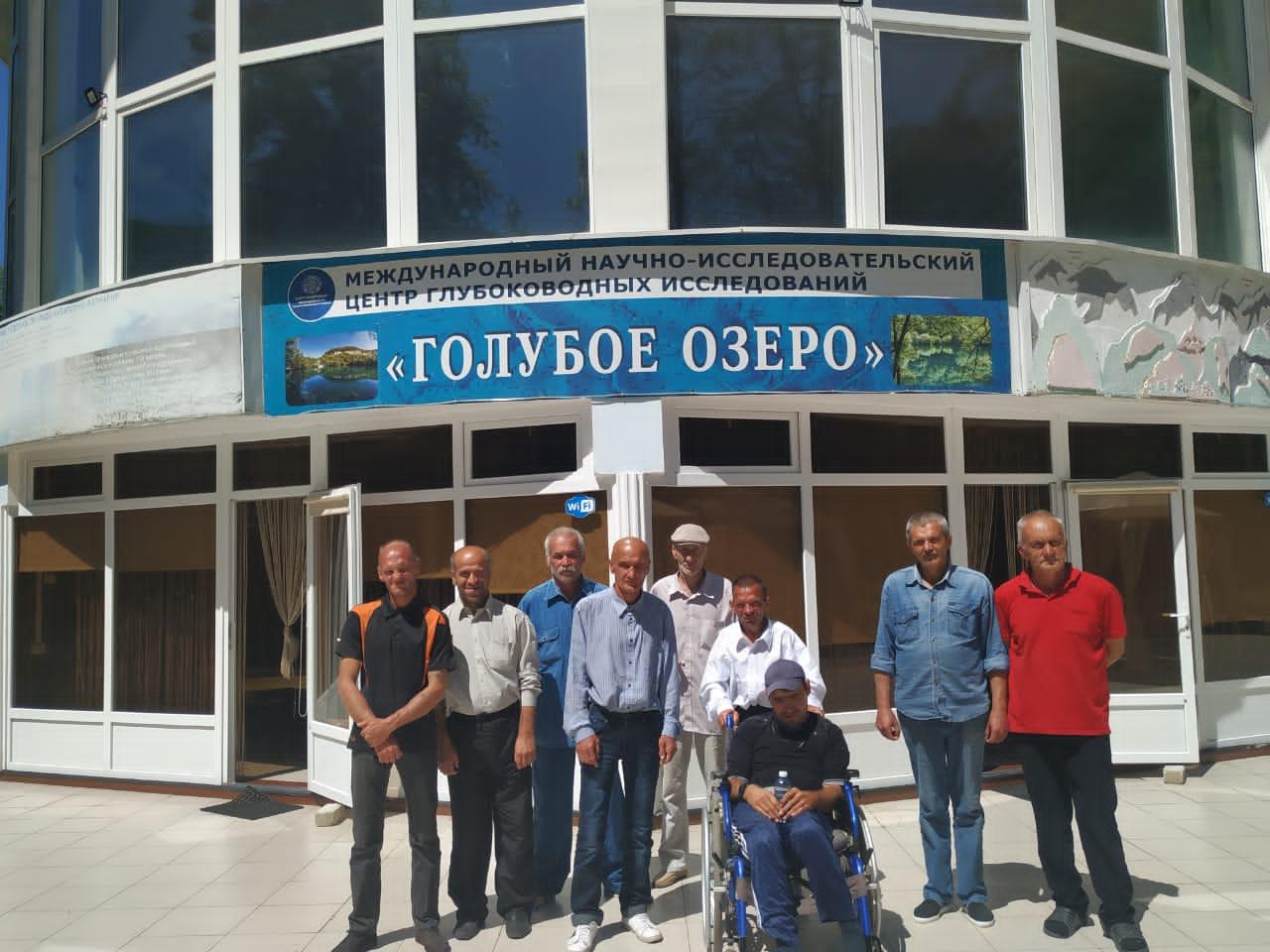 Экскурсионная поездка на «Голубые озёра»