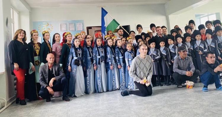 Благотворительный концерт. Народный ансамбль «Шагди» 06.05.2021