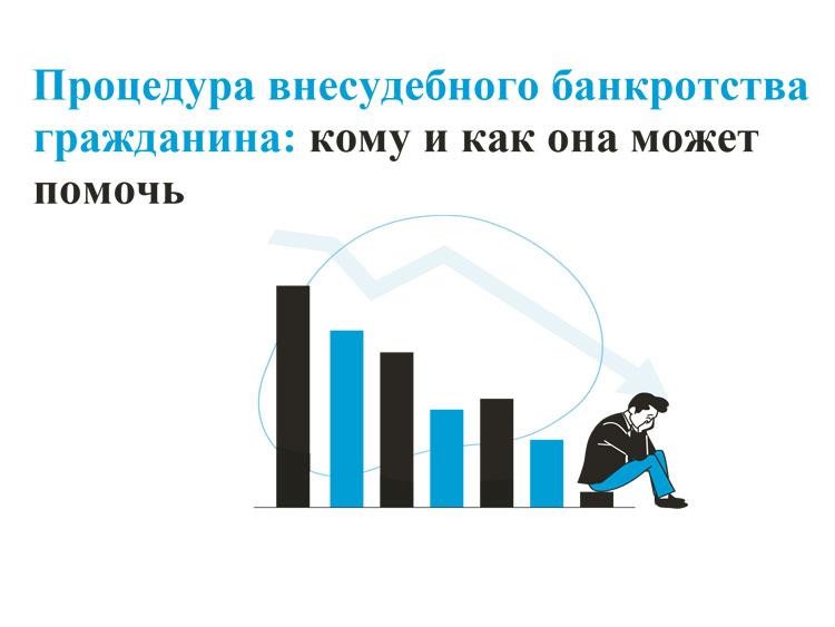 Информация о процедуре внесудебного банкротства