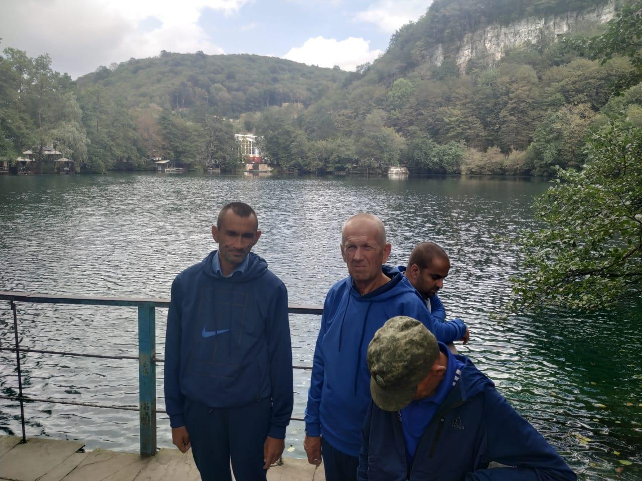 Поездка на «Голубые озёра»