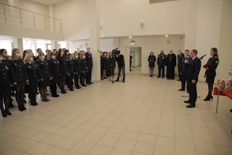 Михаил Романов поздравил сотрудников изолятора «Креcты-2» с Днем работников уголовно-исполнительной системы в Колпино