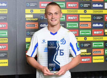 Лучший игрок Москвы 2019 года Константин Тюкавин признан лучшим игроком матча